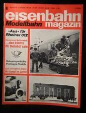 Eisenbahn Magazin Modellbahn 1975 August #8