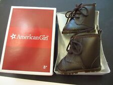 NOS NIB AMERICAN GIRL DOLL KIT HOBO OUTFIT WORK BOOTS BROWN ORIGINAL BOX MINT