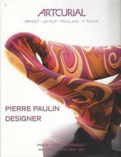 Catalogue Vente ARTCURIAL 20 th Century French DESIGN DE PIERRE PAULIN Designer