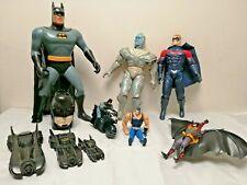 1990's toy bundle with Batman, Robin and Batmobiles. BTAS, Batman Forever, 1989