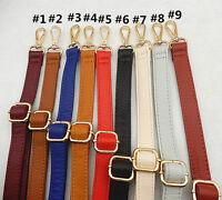 Leather Replacement Cross-body Shoulder Handle Purse Handbag Long Belt Strap