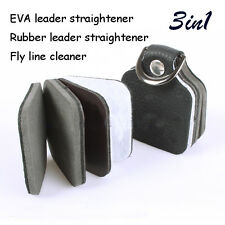 fishing line cleaner, leather Straightener,rubber leather Straightener,3in1 tool
