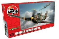 AIRFIX 1:72 HAWKER HURRICANE MK.1 WW2 AIRCRAFT MODEL KIT RAF PLANE KIT A01010