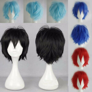Cosplay Anime Short Wig Cosplay Pop Party Straight Hair Cosplay Full Wigs