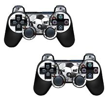 2x Football wall Playstation 3 (PS3) Controller Sticker / Skin / 3ps11