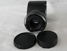 FOCAL MC 2x Converter Lens for MINOLTA MD Cameras, with Caps and Case 20-06-77