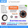 1.35V PX400 MR-42 RM400 H-B MRB400 Adapter + Battery For Spotmatic SP Camera UK