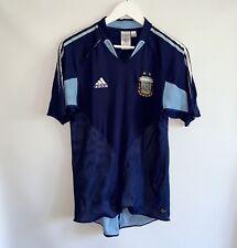RARE ARGENTINA NATIONAL FOOTBALL TEAM AWAY 2003/05 SHIRT JERSEY ADIDAS / SIZE M