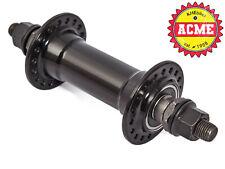 KHE ACME BMX Nabe Vorne Vorderradnabe 36 Loch 10mm Alu S/B 234g 140mm schwarz