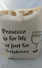 Tote Bag for prosecco lovers ideal fun gift