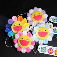 TAKASHI MURAKAMI Kaikai Kiki Rainbow Flower Lapel Pin Badge