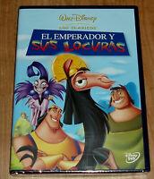 EL EMPERADOR Y SUS LOCURAS DISNEY CLASICO Nº 40 DVD NUEVO (SIN ABRIR) R2
