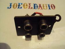 Marantz 2220B Original RCA Input Jack Panel Phono/AUX Parting Out 2220B Receiver