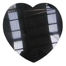 "5"" Super Black Laser Engraved Marble Heart Stone"