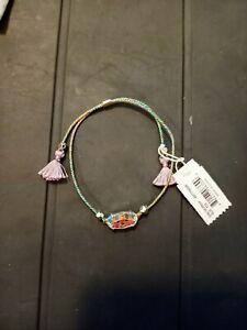 Kendra Scott Everlyne Bracelet In Dichroic Glass