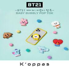 BTS BT21 Baby Bubbly Pop Tok Official LINE FRIENDS MD Smart Phone Stand Holder