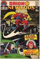 New Gods 3 DC 1971 NM- Jack Kirby Orion Black Racer