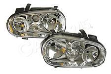 HELLA Headlight Set Nearside+Offside Fits VW Gol IV Golf Van Mk3 Mk4 97-13