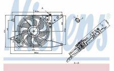 NISSENS Ventilateur moteur pour DACIA LOGAN 85710 - Pièces Auto Mister Auto
