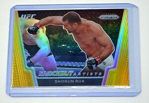 SHOGUN RUA 2021 UFC PRIZM DEBUT EDITION GOLD REFRACTOR KNOCKOUT ARTISTS /10