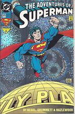 Adventures of Superman #505 (Oct 93)- holografx foil collector's ed. - Supergirl