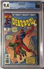 Deadpool (1997) #11 CGC 9.4 • Spider-Man / Amazing Fantasy #15 Cover Homage