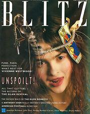 BLITZ #41 May 1986 HELENA BONHAM CARTER Antony Sher JOHN PEEL Jonathan Richman