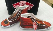 Vans Off the Wall Sk8-Hi Custom Culture Brown Size 11 Sneakers New Box guitar