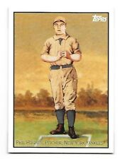 2008 Topps Trading Card History Phil Hughes