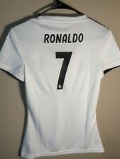 Adidas Real Madrid Women's Ronaldo #7 CR7 jersey Extra Small