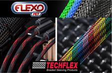 "10ft (3m) - Techflex PTN0.13 1/8"" (0.13"") Flexo PET Wire Sleeving"