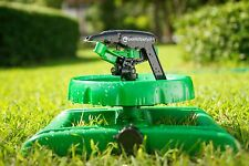 LONG RANGE IMPULSE SPRINKLER SYSTEM - 3500 Sq Ft Sturdy Sprinklers For Lawn