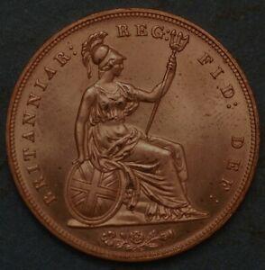 Great Britain Penny 1853 Victoria Queen KM# 739 1525