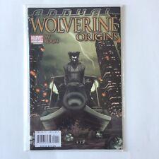 Annual Wolverine Origins Marvel 1 Way Andrews Comic Book