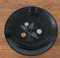 Vintage Couroc Monterey MCM Trinket Serving Bowl, Money Tree, Inlaid Coins, EUC!