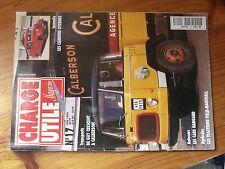 $$x Revue Charge Utile magazine N°17 Cars Hangard  Field-Marshall  Calberson