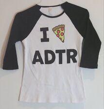 "Jac Vanek A Day To Remember ""I Pizza ADTR"" Vintage Raglan T-Shirt Girly S"