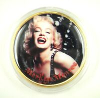 The United States Marilyn Monroe Medal Gold Plated Type F