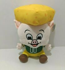 Piggly Wiggly Mr. Pig Plush 2017 Edition Cheese Head Green Bay Packers Stuffed