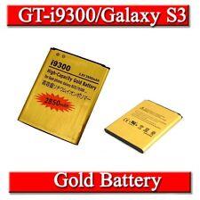 High Capacity Gold Samsung Galaxy S3 I9300 I9305 2850mAh Battery last Longer