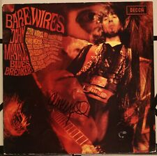 JOHN MAYALL - BARE WIRES GENUINE SIGNED AUTOGRAPHED RECORD ALBUM