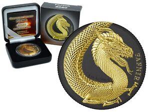 Fafnir Geminus Germania Beasts Serie Black Gold Space Edition 1 oz 999 Silber