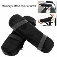 1 Pair Memory Foam Armrest Cushion Elbow Pads Arm Rest Cover Chair Armrest Pads