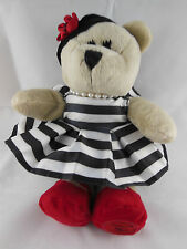 Starbucks 2013 Alice & Olivia Bearista Bear Plush Collectible Stacy Bendet  CUTE