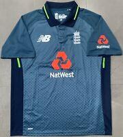 Authentic New Balance England 2018/19 ODI Home Cricket Jersey. BNWOT, Size M.