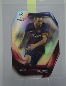 2020 Topps Finest UEFA CL LIONEL MESSI FC Barcelona Performers #FCLP-LM
