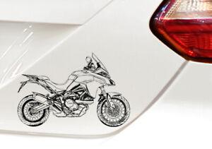 Auto Motorrad Boot Aufkleber Sticker ähnlich Multistrada 950S