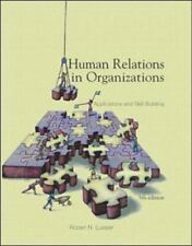 Human Relations In Organizations: Applications and Skill Building, Lussier, Robe