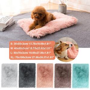 Plüsch Haustier Hundebett Decke Hundedecke Hundekissen Katzenbett Warm Matte