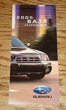 Original 2005 Subaru Baja Accessories Foldout Sales Brochure 05